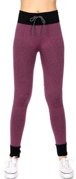 Load image into Gallery viewer, Legging Jogger pants w/ drawstring - Emma's Boutique