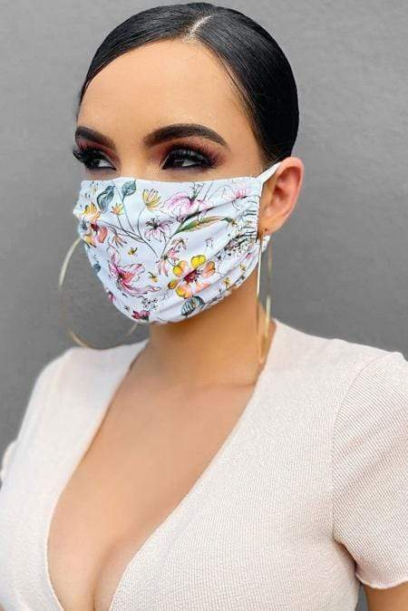Spring Blossom Face Mask - Emma's Boutique
