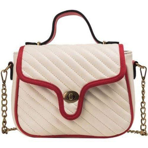 SWIRL PATTERN WOMEN FASHION HANDBAG/ SHOULDER BAG - Emma's Boutique