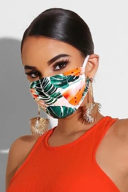 Tie Dye Print Non-medical Face Mask - Emma's Boutique
