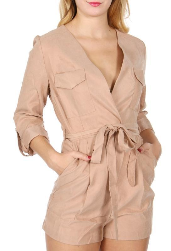 V-Neck romper - Emma's Boutique