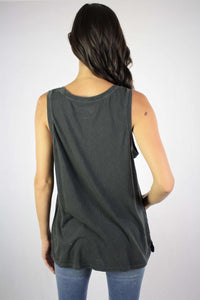 Women's Tank Top with Front Pocket - Emma's Boutique