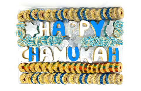 Happy Chanukah Sushi Board