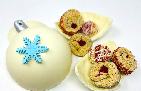 White Chocolate Ornament