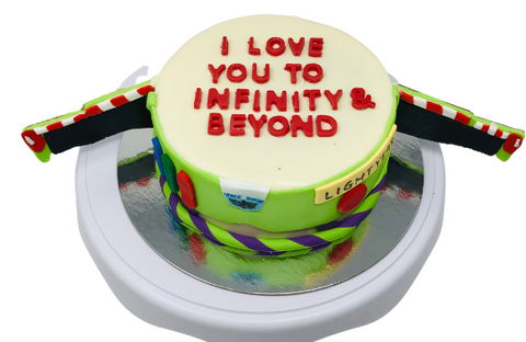 Buzz Lightyear Smash Cake