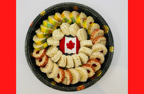 Canada Day Platter