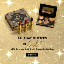 Load image into Gallery viewer, Make Up 24 K Gold Glam Eyeshadow Palette