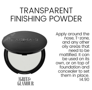 Transparent Finishing Powder
