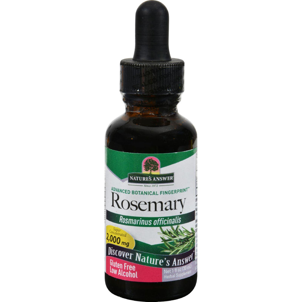 Nature's Answer Rosemary Leaf - 1 Fl Oz