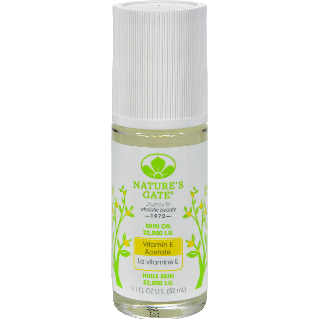 Nature's Gate Vitamin E Oil Roll On - 32000 Iu - 1.1 Fl Oz