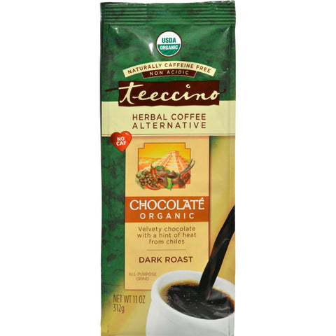 Teeccino Herbal Coffee Chocolate Maya - 11 Oz - Case Of 6