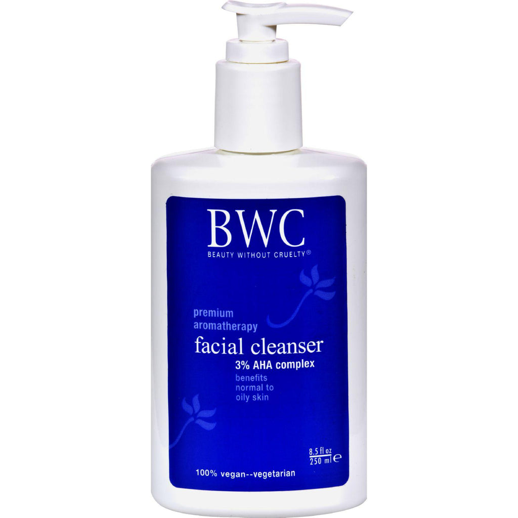 Beauty Without Cruelty Facial Cleanser Alpha Hydroxy Complex - 8.5 Fl Oz