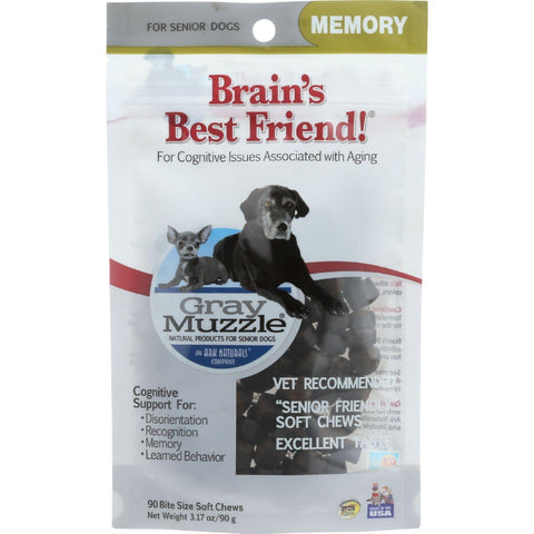 Ark Naturals Brains Best Friend - Gray Muzzle - 90 Chews - 1 Each