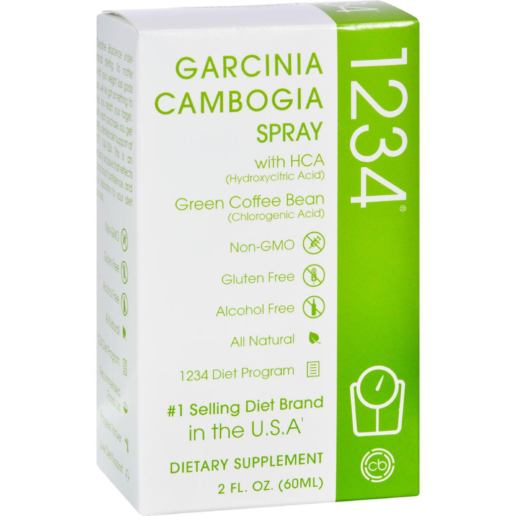 Creative Bioscience Garcinia Cambogia Spray 1234 - 2 Fl Oz