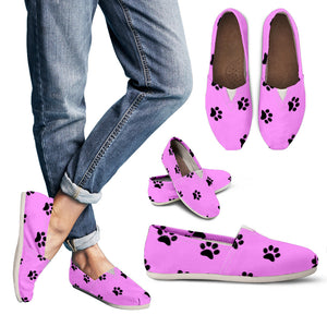 Women's casual shoes Paw prints
