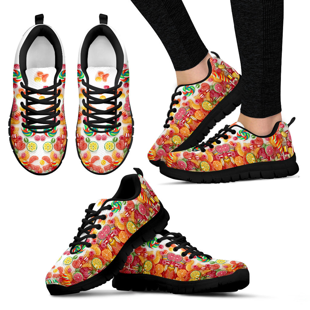 Candy Black Sneakers