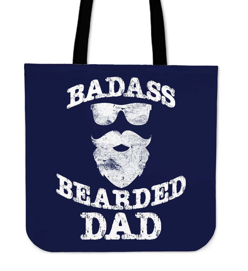 NP Bearded Dad Tote Bag