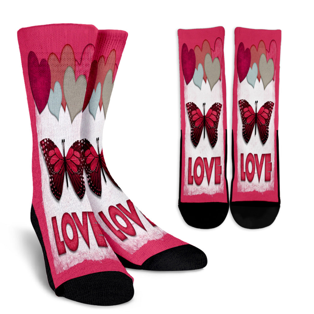 Totally Love Crew Socks