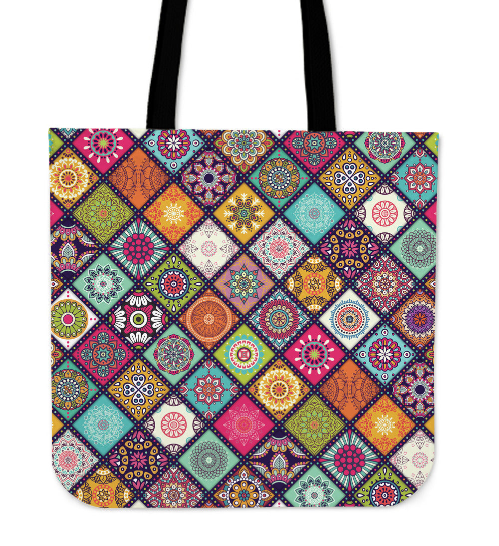 Beautiful Mandala Canvas Tote Bag