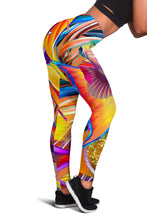 Load image into Gallery viewer, Fish Frenzy Women's Leggings