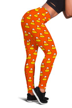 Load image into Gallery viewer, Halloween Candy Corn Leggings