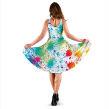 Load image into Gallery viewer, Splash Paint Dress