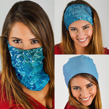 Load image into Gallery viewer, Ocean's on You! Bandana - Neck Gaiter - Mask
