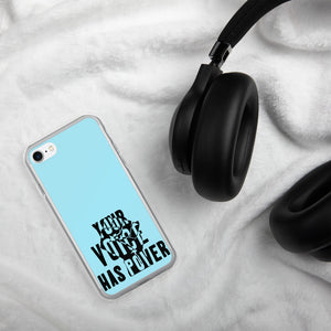Your Voice Has Power Baby Blue iPhone Case