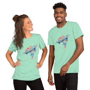 Watercolor SeaTurtle Short-Sleeve Unisex T-Shirt