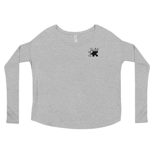 Code Switch Puzzle Piece Ladies' Long Sleeve Tee
