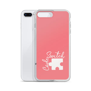 Coral Code Switch iPhone Case