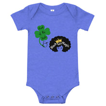 Load image into Gallery viewer, Luck of the Irish and Black Girl Magic Onesie