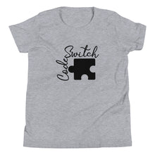 Load image into Gallery viewer, Code Switch Black Puzzle Piece Youth Short Sleeve T-Shirt