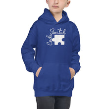 Load image into Gallery viewer, Code Switch Puzzle Piece Kids Hoodie