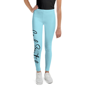 Code Switch Light Blue Youth Leggings