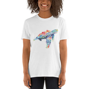 Watercolor Sea Turtle Short-Sleeve Unisex T-Shirt