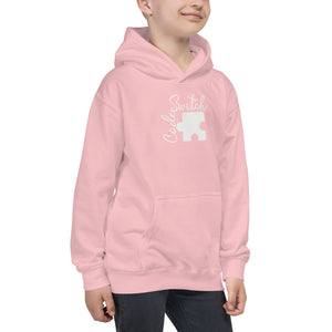 Code Switch Puzzle Piece Kids Hoodie