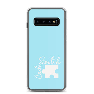 Baby Blue Code Switch Samsung Case