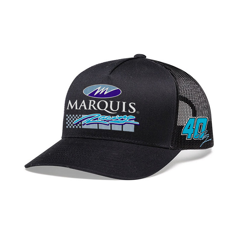 Marquis Racing No. 40 Snapback Hat