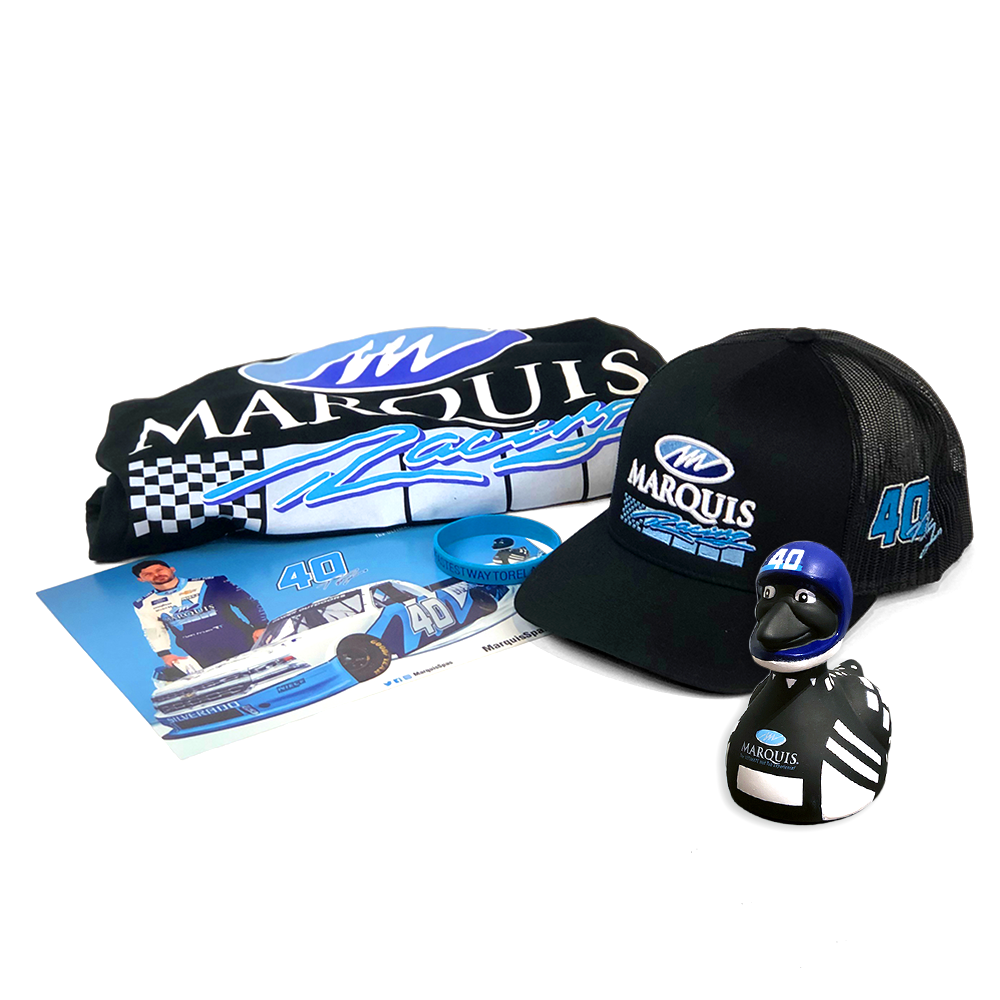 Marquis Racing No. 40 Ryan Truex Fan Bundle