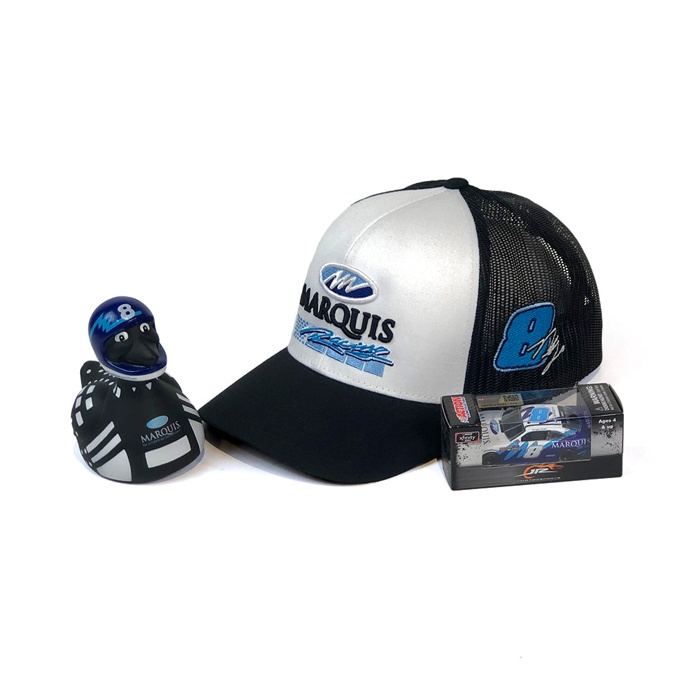 *Limited Edition* Marquis Racing No. 8 Ryan Truex Fan Bundle
