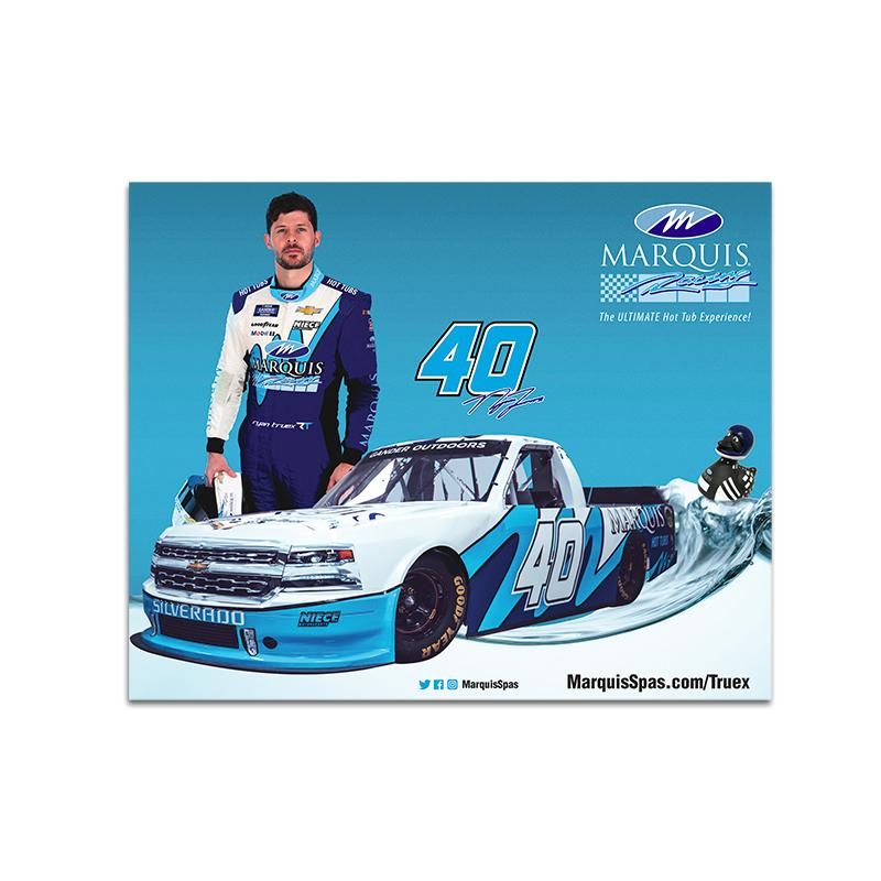 Ryan Truex 2020 Marquis Spas No. 40 *Limited Edition* Hero Card