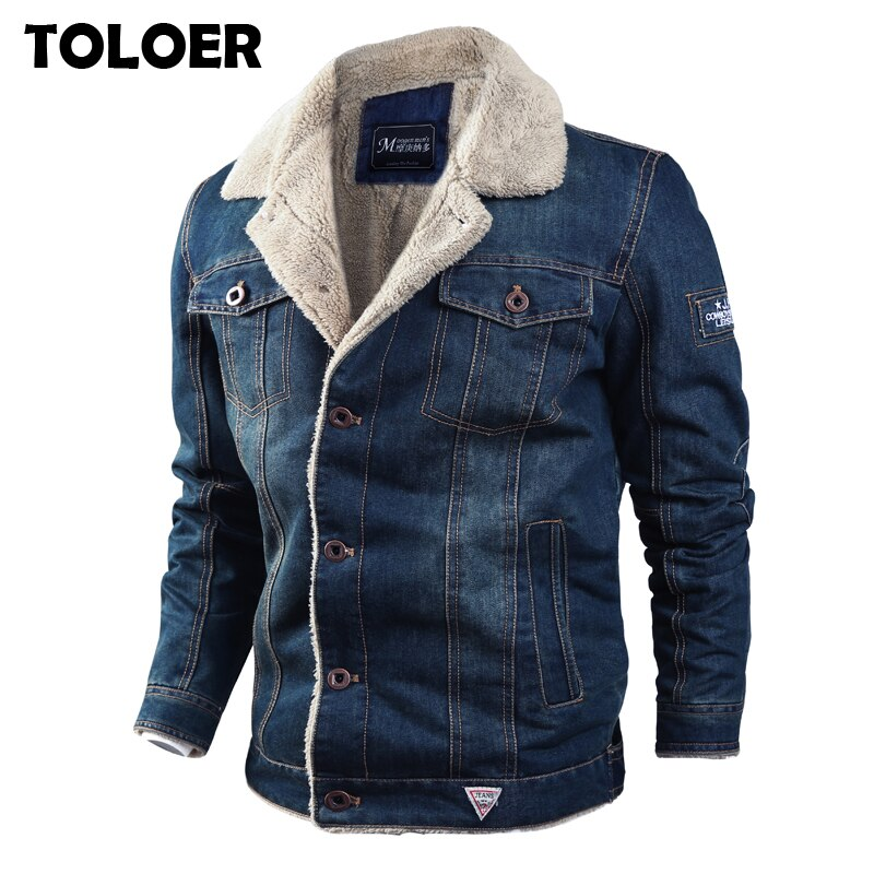 Thick Fleece Denim Jackets