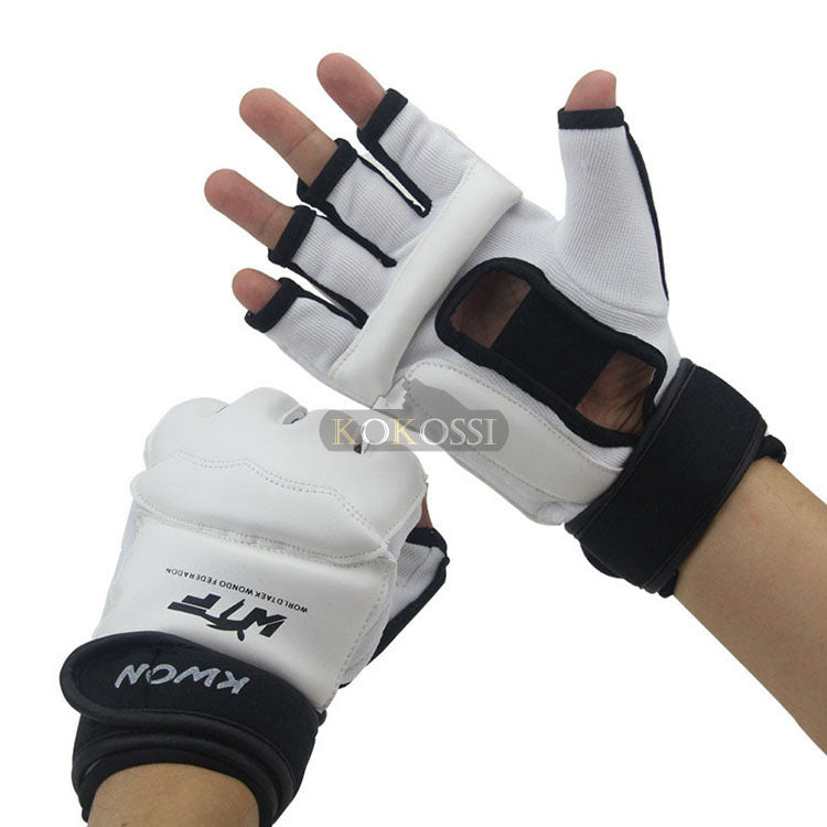 Half Finger Fight Boxing Gloves