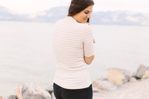 Ivy Textured Knit Top