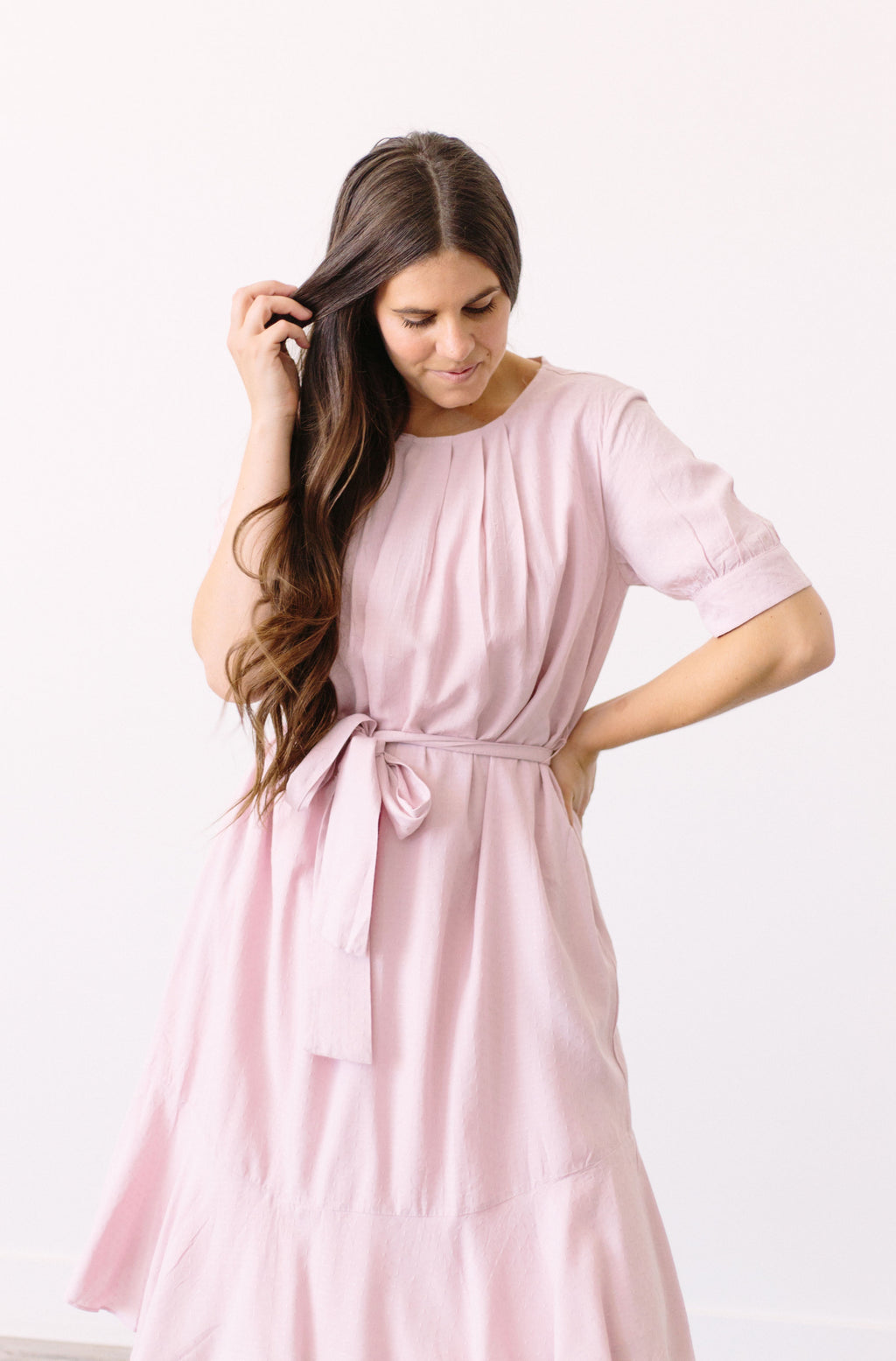 Hello Blossom Grove Dress In Pink