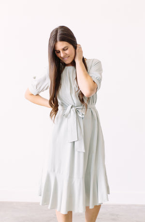 Hello Blossom Grove Dress In Sage