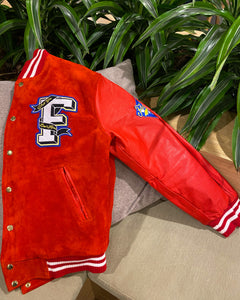 Candy Apple Red Varsity Jacket
