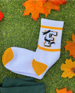 Fear Logo Socks Yellow