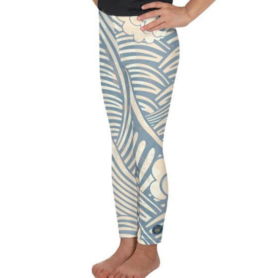 Wave Leggings - Boho Kiddo Co.